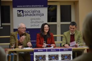 Ivan Gačnik, Romana Jordan in Mario Plešej