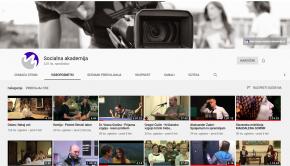 Youtube kanal Socialne akademije