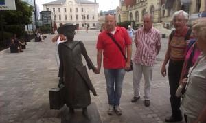 Z Almo Karlin v Celju
