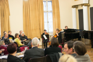 Nastop klavirskega tria Akademije za glasbo