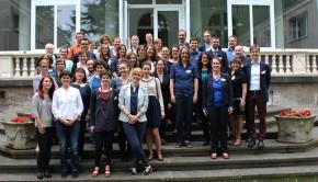 Udeleženeci programa Europa gestalten - Politische Bildung in Aktion