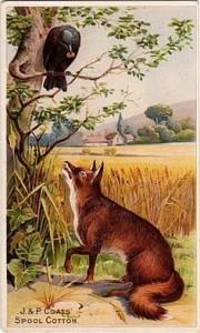 vrana in lisica
